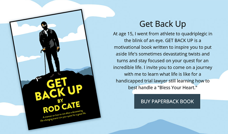 Get Back Up by Rod Cate - 800X