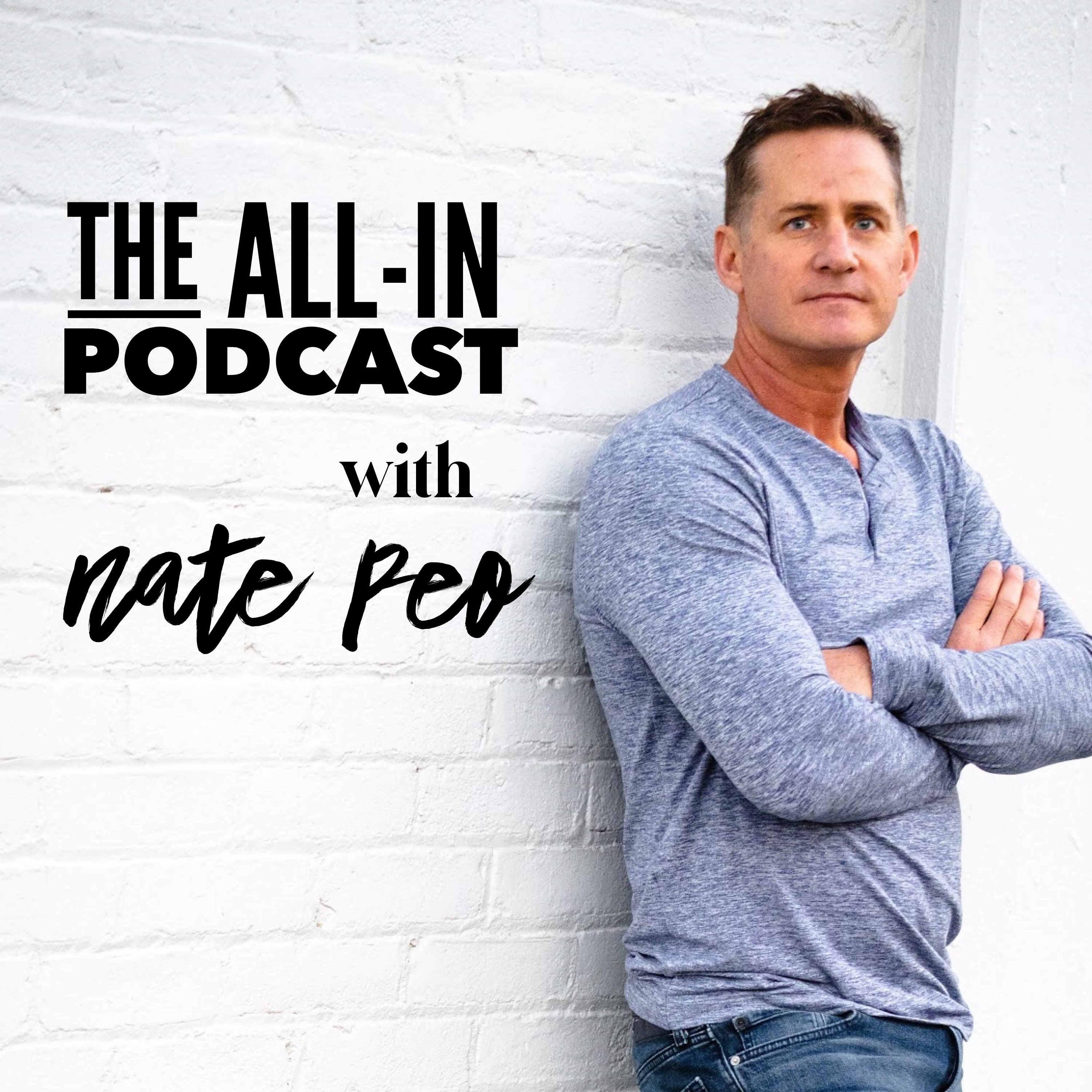 The All-In Podcast with Nate Peo show art