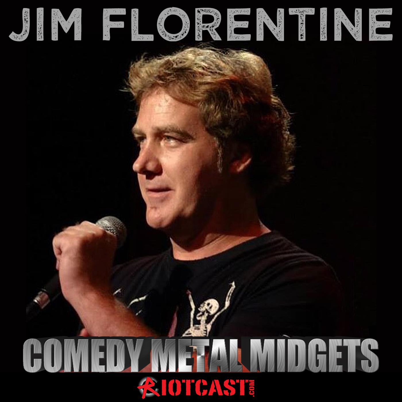 Jim Florentine's 'Comedy Metal Midgets' show art