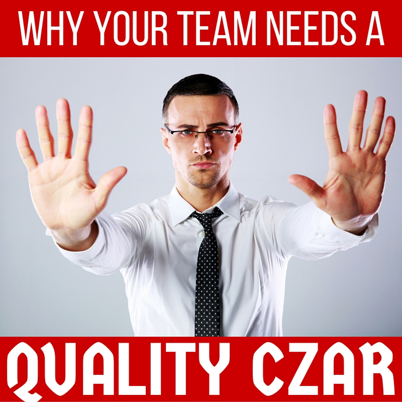 Content Marketing Podcast 159: Why Your Team Needs a Quality Czar