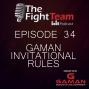 Artwork for EP 34 - Gaman BJJ & Grappling  Invitational Rules