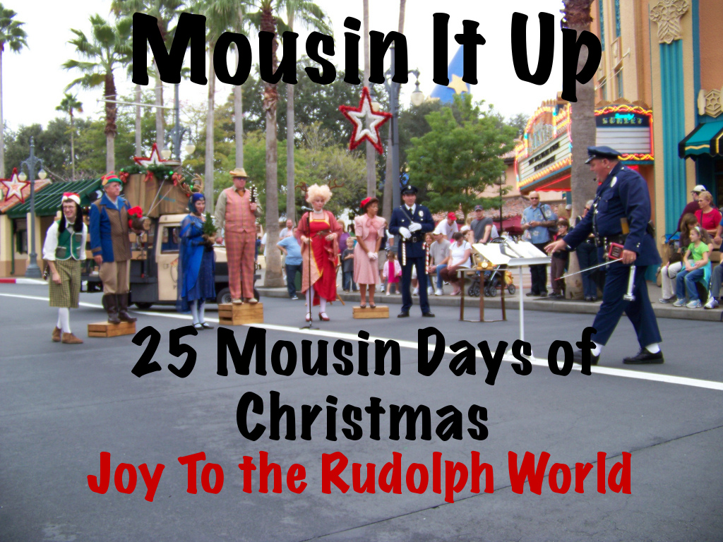 25 Mousin Days of Christmas - Day 4 Joy to the Rudolph world