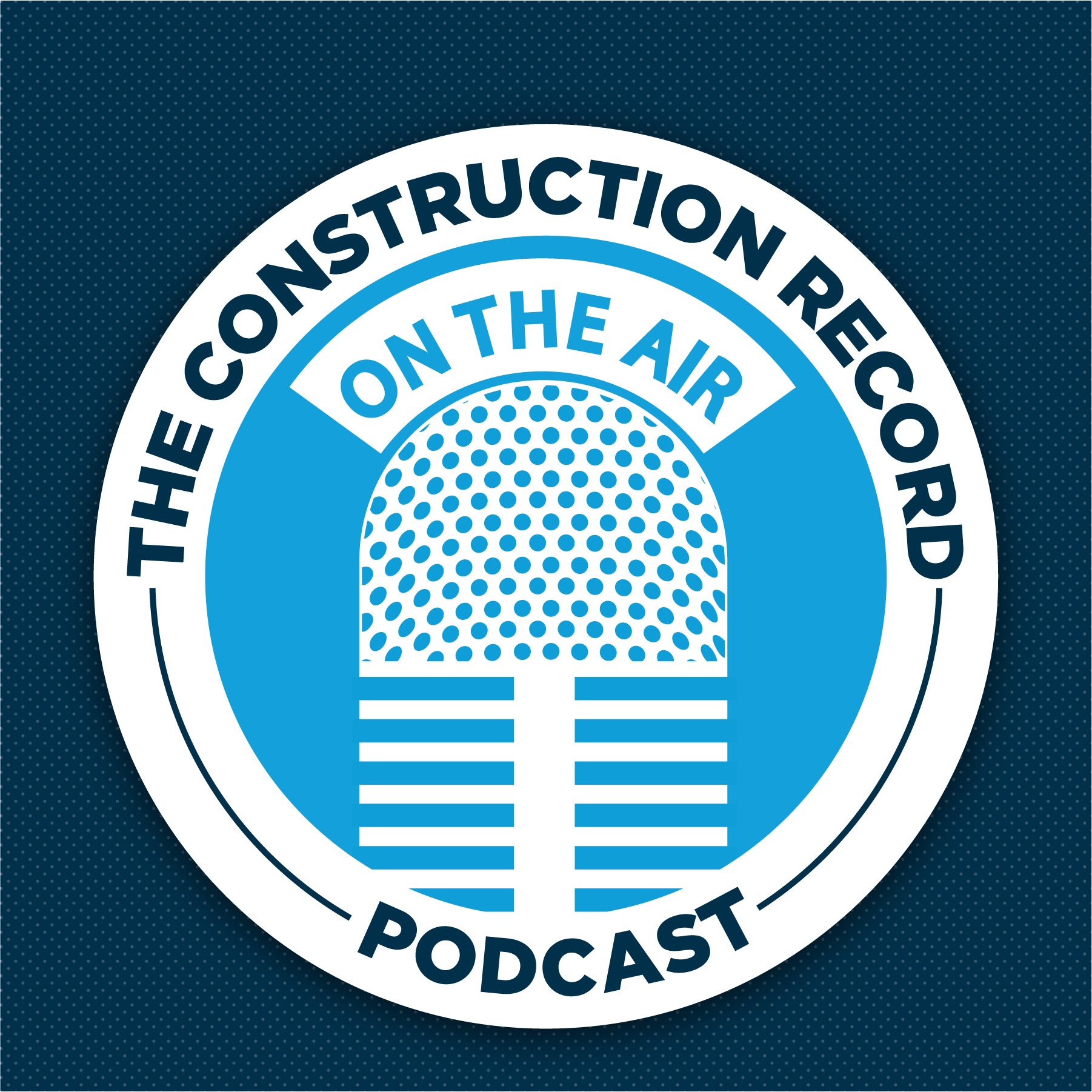 The Construction Record Podcast show art