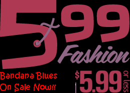 Bandana Blues #599 Inexpensive!!