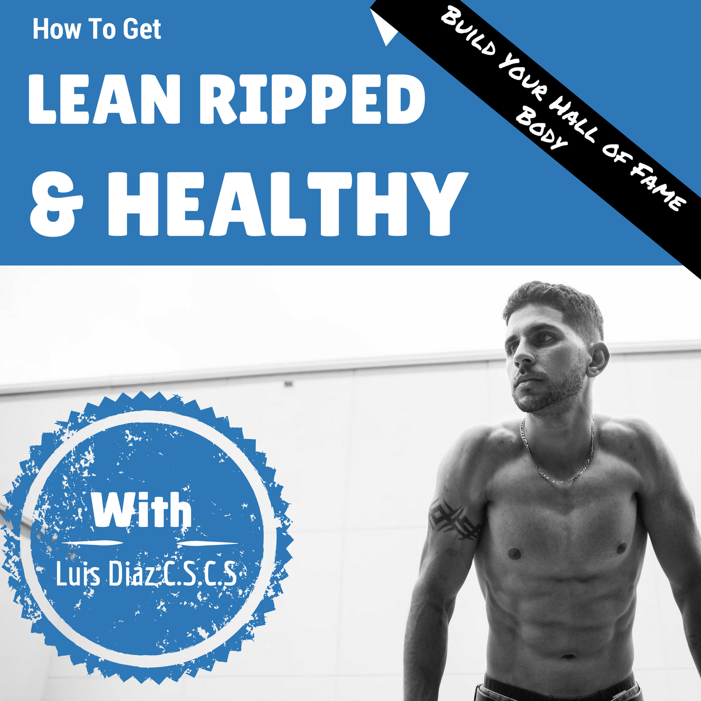 How To Get Lean Ripped and Healthy With Luis Diaz  logo