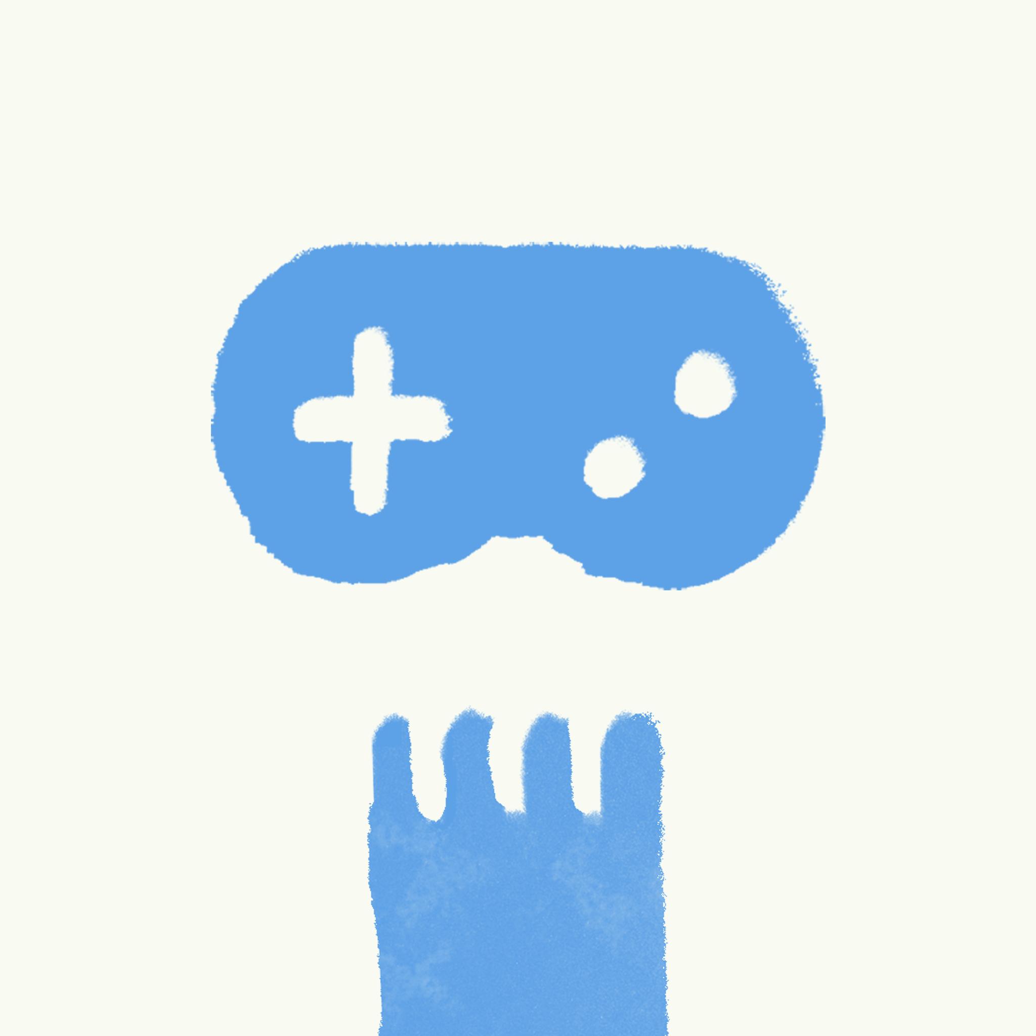 Game Hugs show art