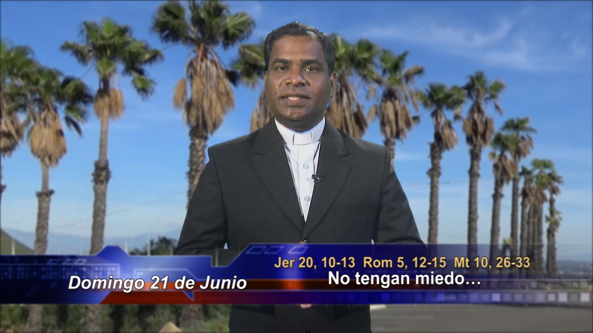 """Artwork for Dios te Habla con Fr. Deebar Yonas, SVD; Tema el hoy: """"No tengan miedo…"""""""