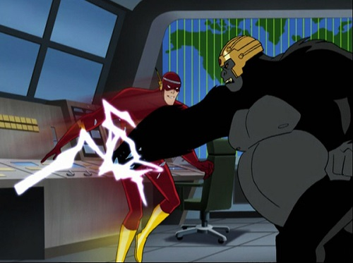 Crimson Comet #5 Justice League 1x12-13 The Brave and the Bold