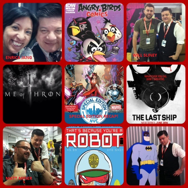 Episode 544 - Special Editioning w/ Will Sliney/Enrica Jang/Matt Miner & Heroes Con Preview!