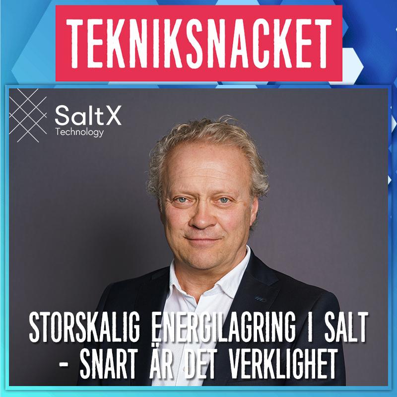 Storskalig energilagring i salt - snart är det verklighet