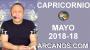 Artwork for CAPRICORNIO MAYO 2018-18-29 Abr al 5 May 2018-Amor Solteros Parejas Dinero Trabajo-ARCANOS.COM