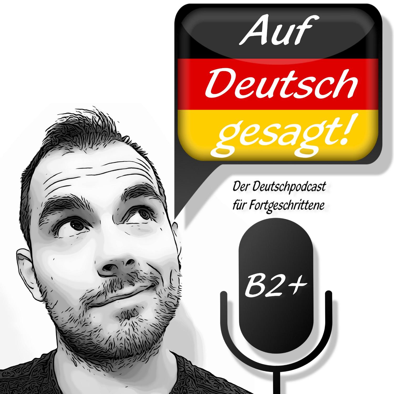Auf Deutsch gesagt! show art