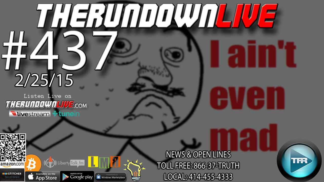 The Rundown Live #437 Open Lines (FCC,Internet Future,GMOs)