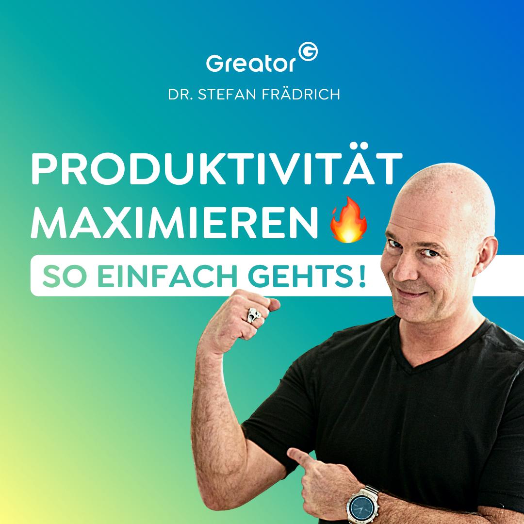 #829 Dein Lebensweg: Warum dich Ziele auch behindern können // Dr. Stefan Frädrich