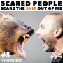 Artwork for #76: SCARED PEOPLE SCARE THE SHIT OUT OF ME: And How To Never Have Fear Again - Daily Mentoring w/ Trevor Crane #greatnessquest