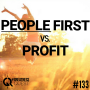 Artwork for #133: PEOPLE FIRST VS. PROFIT FIRST - Daily Mentoring w/ Trevor Crane #greatnessquest