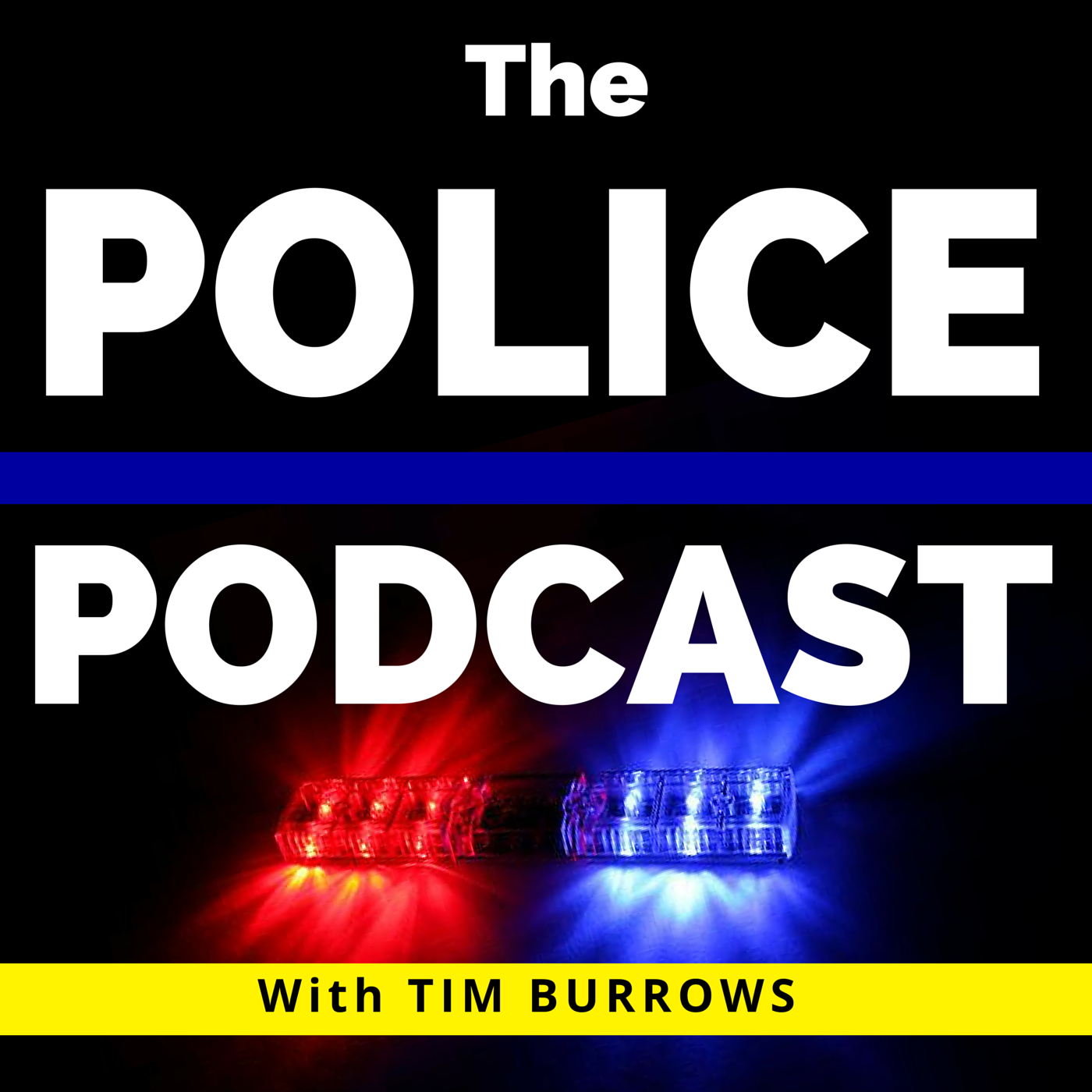 The Police Podcast show art