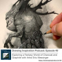 Artwork for Exploring a Fantasy World of Charcoal and Graphite with Artist Eric Messinger