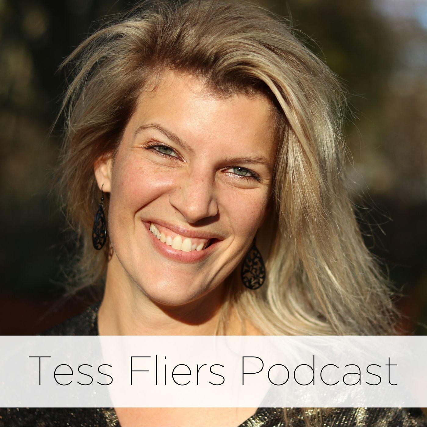 Tess Fliers Podcast show art