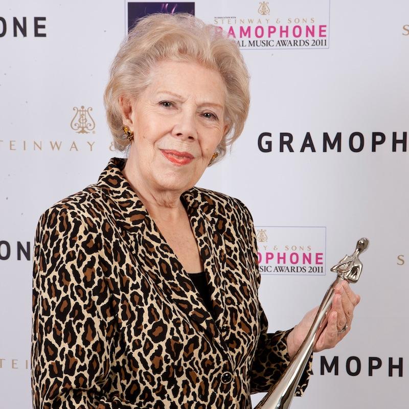 Artwork for Dame Janet Baker talks to James Jolly: a Gramophone Milestones Podcast, in association with EFG International