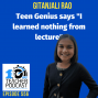 "Artwork for Teen Genius Says ""I Learned Nothing from Lecture"""