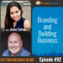 Artwork for 092: Branding and Building Business with Joana Galvao