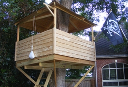 CST #132: Treehouse Complete!