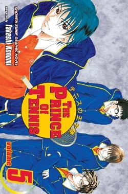 Manga Review: The Prince of Tennis Volume 5