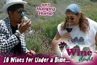 Humpty Hump & The Wine Dude - 10 Wines for Under a Dime (Audio)