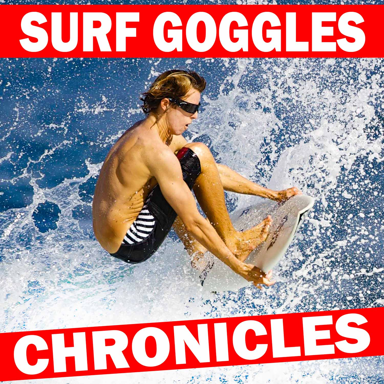 From Concept to Market A-Z: Patents,  Trademarks, Manufacturing, Sourcing,  Marketing, Branding, E-Commerce - Surf Goggle Chronicles show art