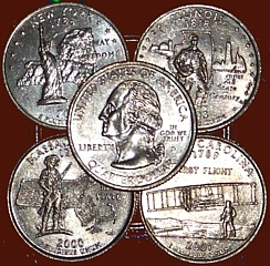 110-121101 In the Treasure Corner - Know Your Coins III - State Quarters