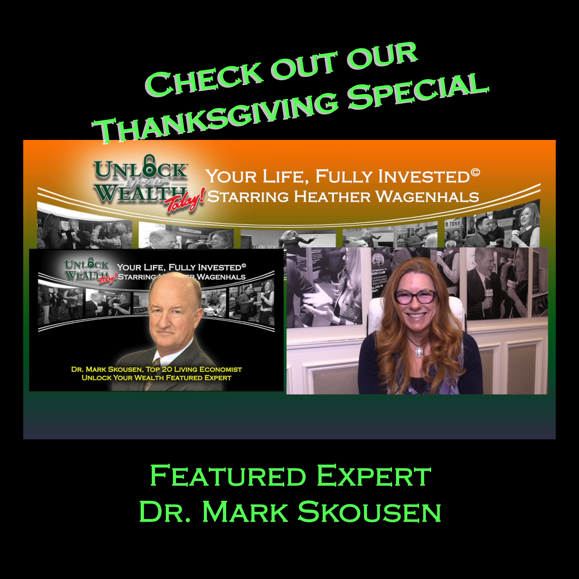 Artwork for Thanksgiving, My Other Favorite Holiday, and one of the Top 20 Living Economists Dr. Mark Skousen
