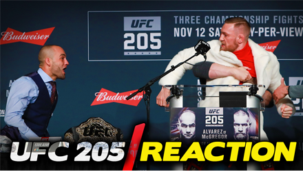 BONUS: Reaction to UFC 205 Press Conference