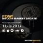 """Artwork for PoW Bitcoin: """"Bcash Tricks and CME"""" - 11/3/2017"""