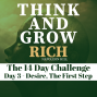 Artwork for Day 3 The Desire Challenge - Think and Grow Rich 14 day challenge