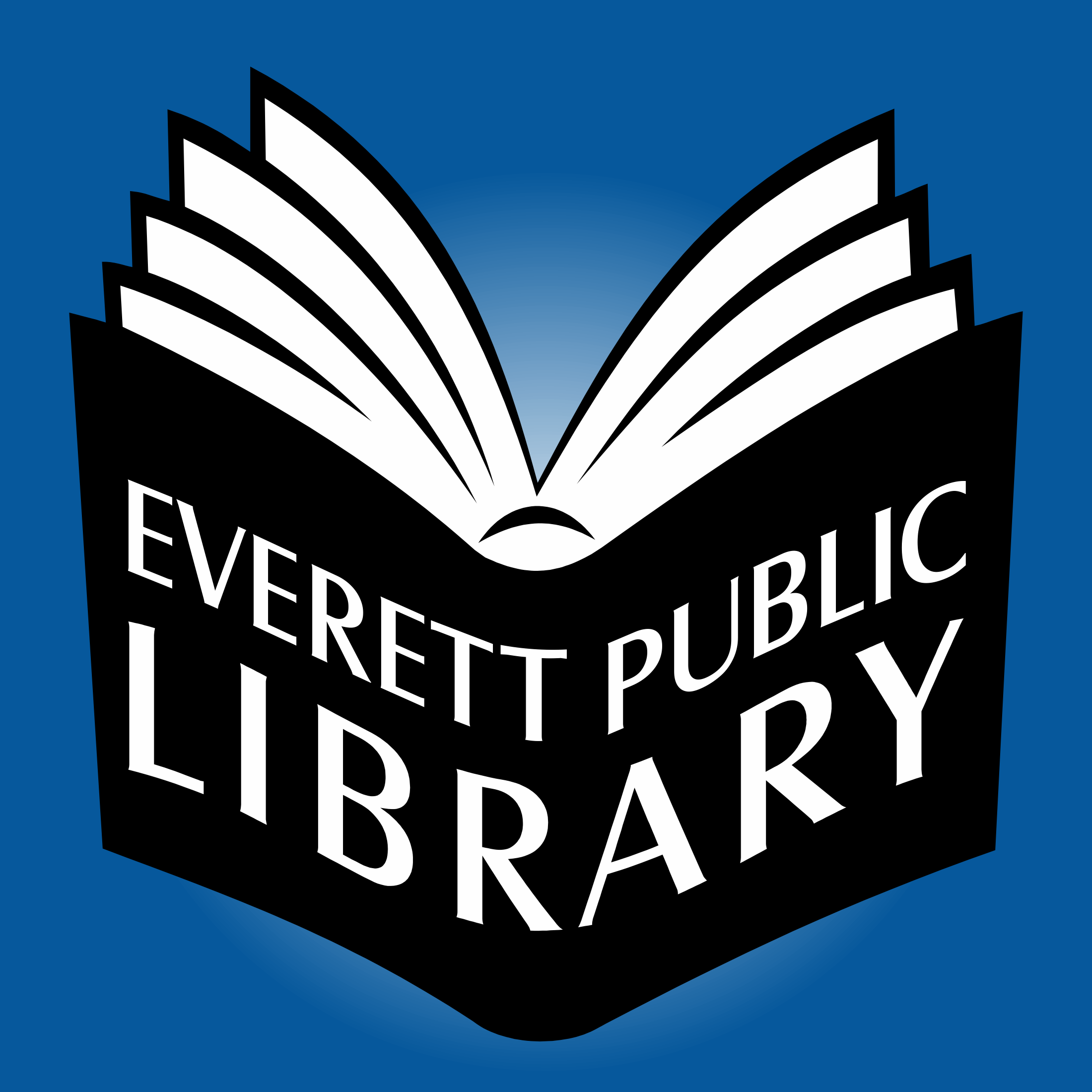 Everett Public Library Podcasts show art