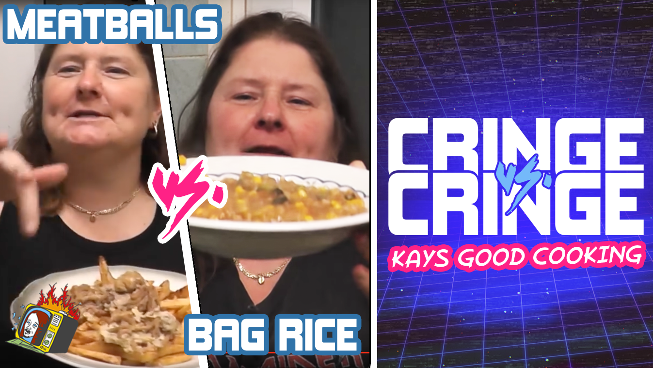 "KAYS GOOD COOKING: ""Meatballs"" VS. ""Bag Rice"" - CRINGE VS. CRINGE"