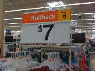 Price Rollback???