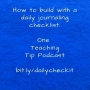 Artwork for Episode 161 - Daily Journal Checklist