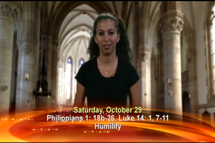 Artwork for Saturday, October 29, 2016 Today's topic: Humility