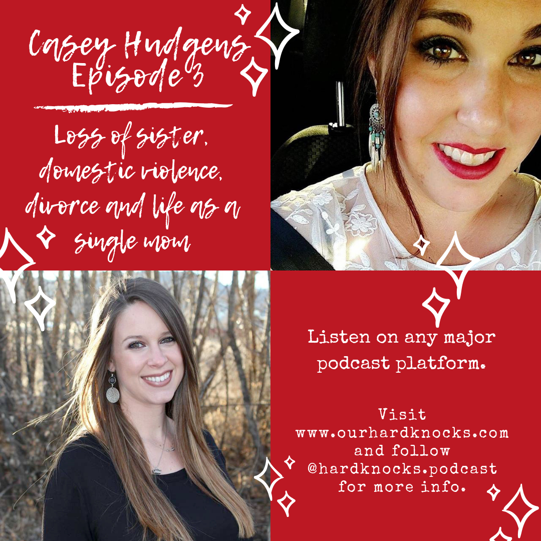 Episode 3: Casey Hudgens - Talking about Her Sister's Death, Domestic Abuse, Divorce, Dating as a Single Mom and Putting Your Kids First