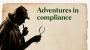 Artwork for Adventures in Compliance – Episode I