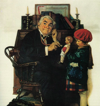 Norman Rockwell Doll