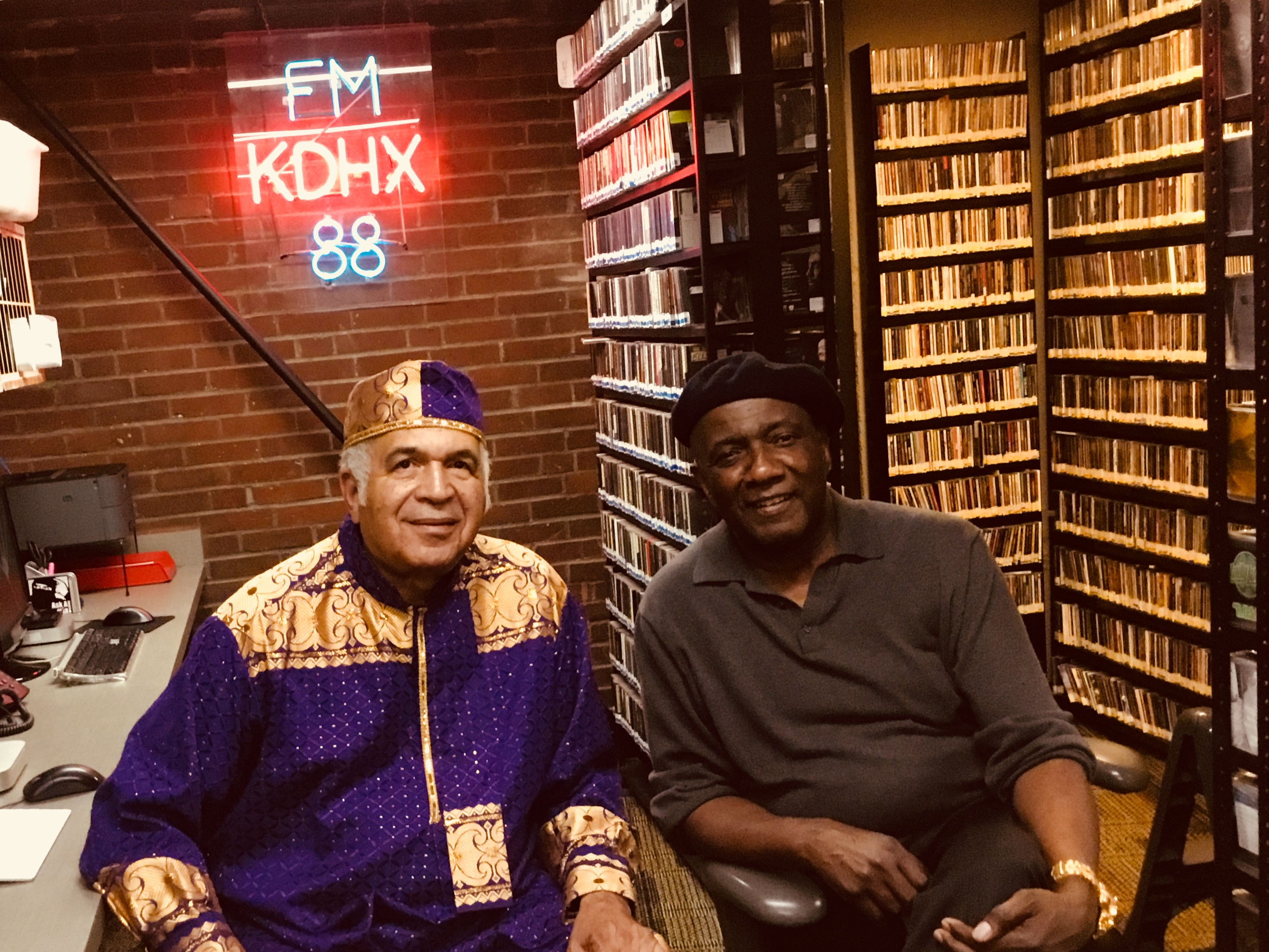 Zaki Baruti and Hank Thompson