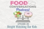 Artwork for Ep 30: Weight Watching Our Kids | Food Conversations Podcast