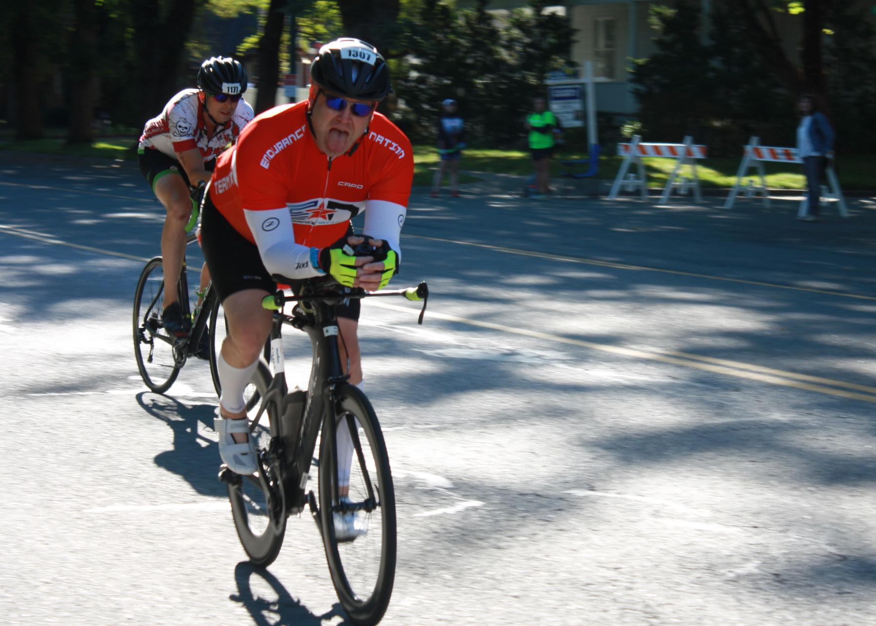 Marc On the Bike In IMCDA