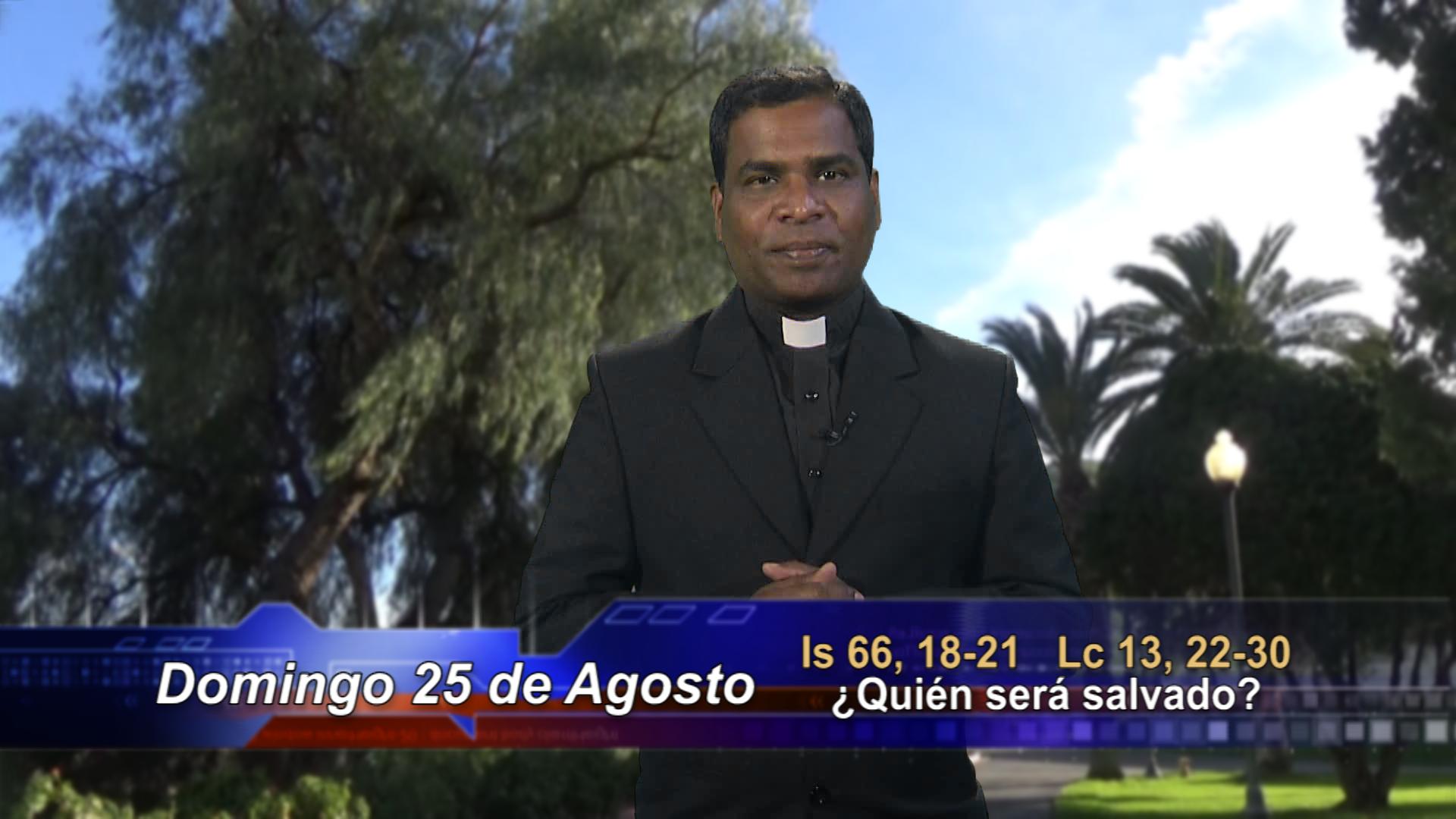 """Artwork for Dios te Habla con Fr. Deeber Yonas, SVD; Tema el hoy: """"¿Quién será salvado?""""."""