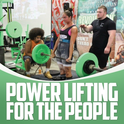 Powerlifting For The People by Gaglione Strength show image