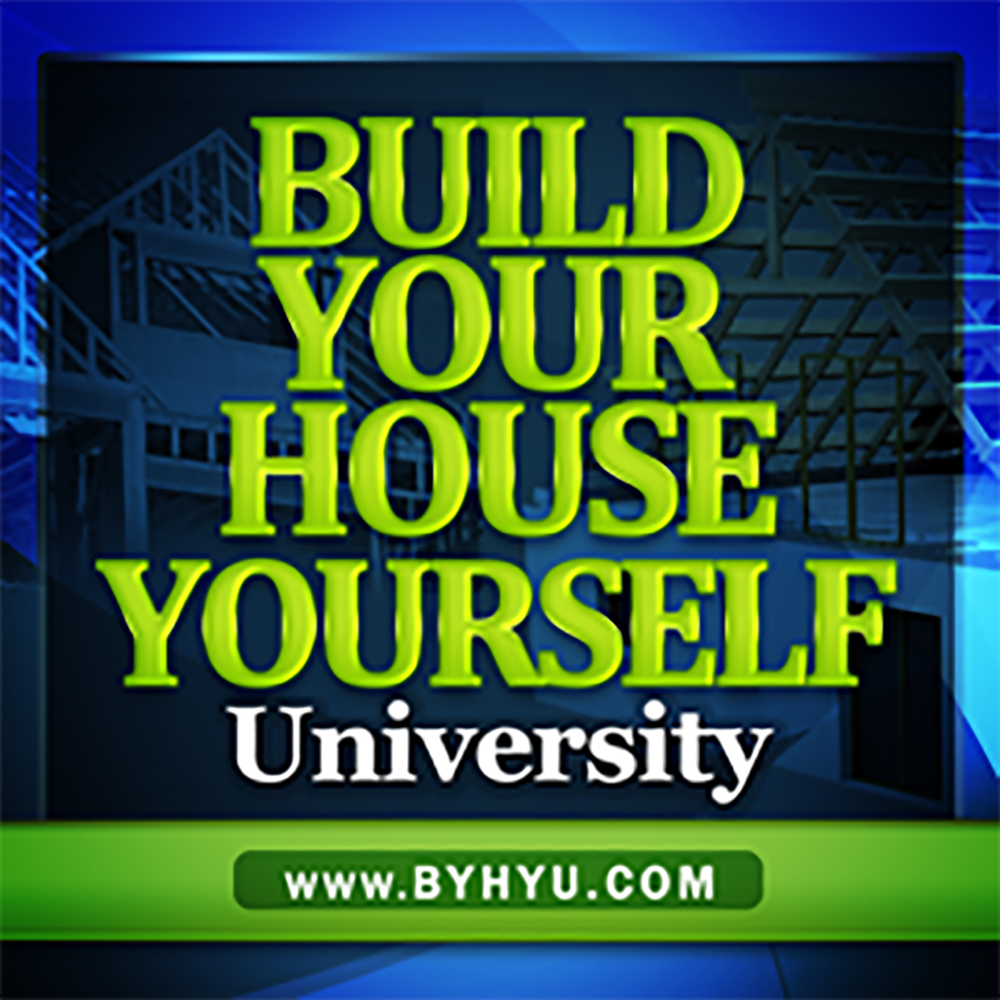Build Your House Yourself University show art