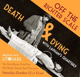 Litquake's Lit Cast Episode 34 – Death & Dying